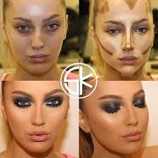 contour makeup for your party night