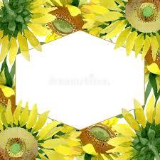 Sunflower Border Stock Illustrations 2 722 Sunflower Border Stock Illustrations Vectors Clipart Dreamstime