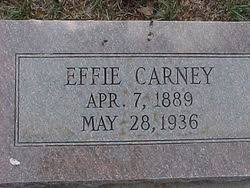 Easter Effie Mitchell Carney (1889-1936) - Find A Grave Memorial