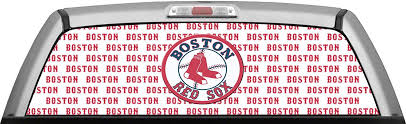 Buy Boston Red Sox Stamped White Window Wrap Truck Rear Perforated Window Decal Sticker In Cheap Price On Alibaba Com