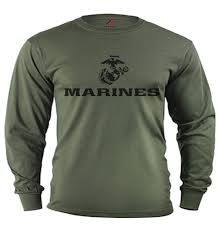 Men S Long Sleeve Shirt Usmc Decal Us Marine Corps Gifts Tactical Gear Marines Long Sleeve Shirt Men Long Sleeve Shirts Military Shirts
