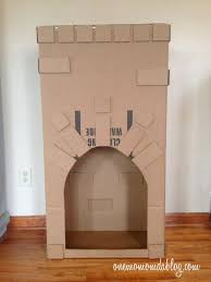 how to make a cardboard fireplace one