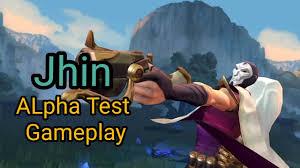 Jhin Alpha Test Gameplay League of Legends Wildrift
