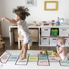 Baby Hopscotch Play Mat Kids Activity Play Gym Mats Children Infant Adventure Rug Crawling Mat Kids Room Floor Carpet Non Slip Play Mats Aliexpress