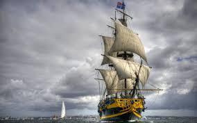 تحميل خلفيات المراكب الشراعية البحر الفرقاطة الفرنسية عريضة