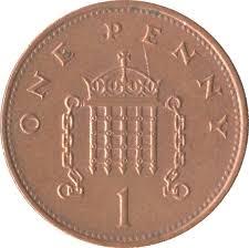 1 Penny - Elizabeth II (3rd portrait; magnetic) - United Kingdom ...