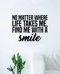 Find Me With A Smile Wall Decal Sticker Vinyl Art Bedroom Living Room Boop Decals
