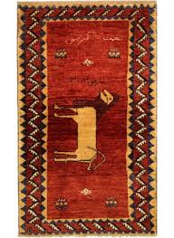 gabbeh handmade persian rug 170 x 98 cm