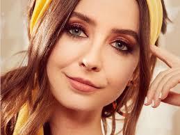 zoella unveils brunch inspired make up