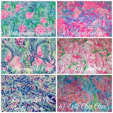 Lilly Pulitzer Fabric – Bryn & Proper