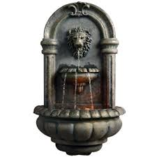 spitter fountains outdoor decor