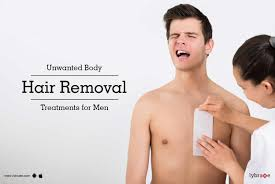 unwanted body hair removal treatments
