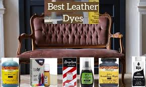 10 best leather dyes for furniture
