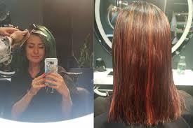 so you ve d your hair a crazy colour