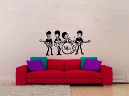 Red Barrel Studio The Beatles Wall Decal Wayfair