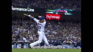 Justin Turner Home Run Swing Slow ...