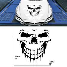 Skull Car Suv Truck Tailgate Window Black Hood Decal Vinyl Large Graphic Sticker Ebay