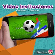Invitacion De Cumpleanos Para Whatsapp De Futbol Onlogdepo