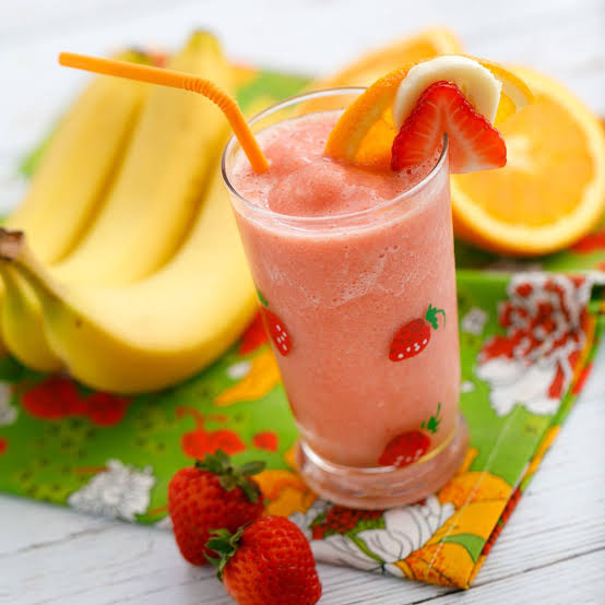 Image result for orange strawberry smoothie""