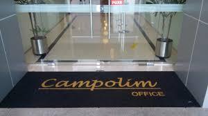 Tapete Capacho Personalizado Condomínio Loja 1,50 X 0,50 - R$ 160 ...