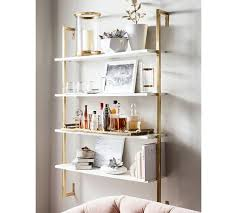 olivia wall mounted shelves pottery barn