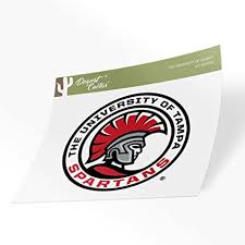 Amazon Com The University Of Tampa Spartans Ncaa Vinyl Decal Laptop Water Bottle Car Scrapbook Sticker 00343a Arts Crafts Sewing