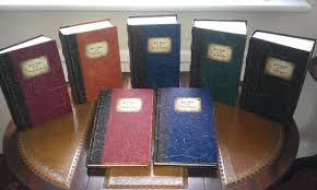harry potter books made to look like