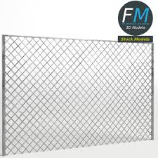 Chain Link Fence By Francescomilanese85 3docean