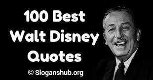 walt disney quotes slogans hub