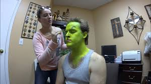 grinch jim carrey makeup time