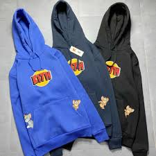 2020 19ss Kith X Tom Jerry Hoodie Cat And Mouse Joint Plus Plush Cotton  Mens And Womens Hoodie S XL From Wangyun666999, $70.04