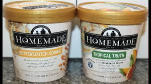 homemade brand ice cream erscotch
