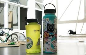 It S A Sticky Situation What The Stickers On Your Water Bottle Say About You