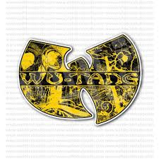 From 4 50 Buy Wu Tang Clan Skull Hip Hop Band Sticker At Print Plus In Stickers Movie Music At Print Plus