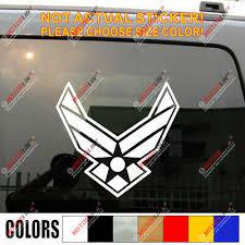 Air Force Decal Sticker Car Vinyl No Bkgrd Die Cut Style A Ebay