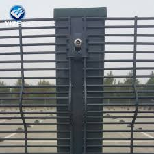Prefab Modular Metal 358 Fence Panel Anti Climb Pvc Coated Blue 358 Fence Panel Export To Malaysia South Africa Usa Buy Anti Climb Pvc Coated Blue 358 Fence Panel Prefab Modular Metal 358