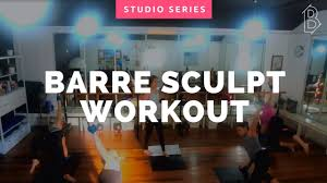 free 40 minute barre workout video at