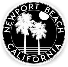 Amazon Com Destinations Decal 3 Vinyl Decal Newport Beach California Sticker Automotive