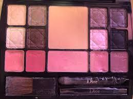 dior makeup set palette lip gloss and