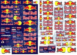 Red Bull Racing Decals My Custom Hotwheels Decals Dioramas