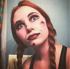 annabelle makeup cosplay amino