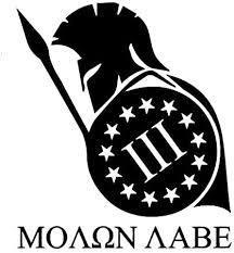 Amazon Com Molon Labe Spartan Iii 3 Decal Vinyl Sticker Cars Trucks Vans Walls Laptop Black 5 5 X 4 8 In Duc947 Arts Crafts Sewing