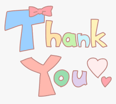 thankyou thanks word colorful cute love