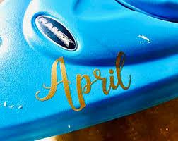 Canoe Decals Etsy