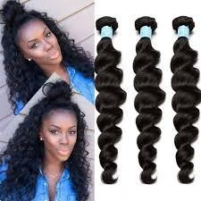 natural color loose wave hair