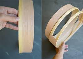 diy wood veneer pendant