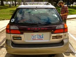 Why It Pays To Plaster Your Car With Stickers Tandem Trekking