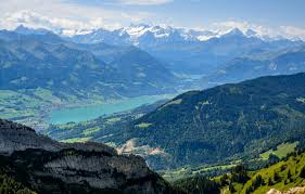 mounns rocks lake switzerland