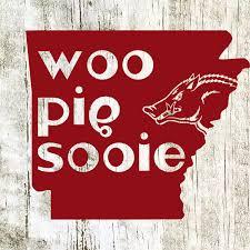 Ar02 Arkansas Razorback Decal Woo Pig Sooie Single Color Etsy