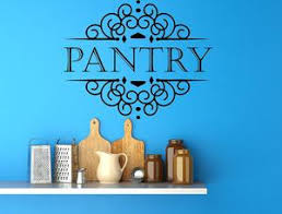 Pantry Vinyl Wall Decal Pantry Signs Pantry Wall Art Vinyl Wall Dec Inspirational Wall Signs